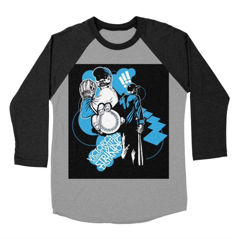 Within Striking Distance (black) Men's Baseball Triblend T-Shirt by jconart's Artist Shop