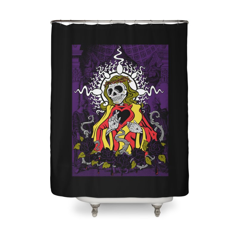Mortality Home Shower Curtain by The Art of JCooper