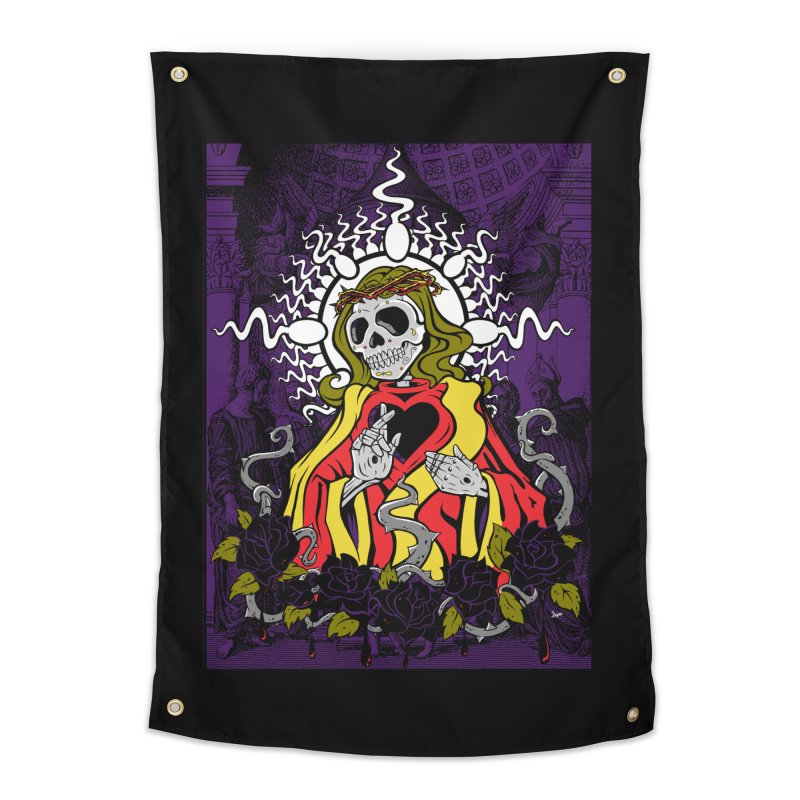 Mortality Home Tapestry by The Art of JCooper