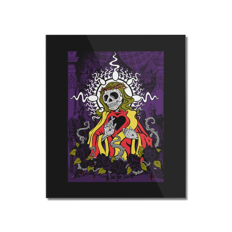 Mortality Home Mounted Acrylic Print by The Art of JCooper