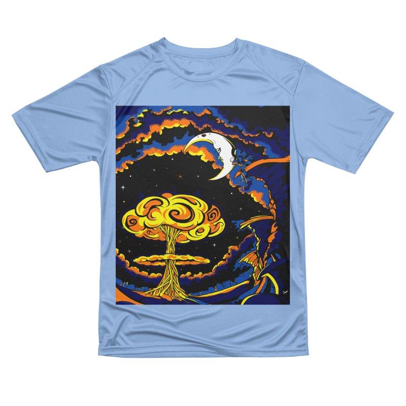 Moon Man Women's T-Shirt by The Art of JCooper