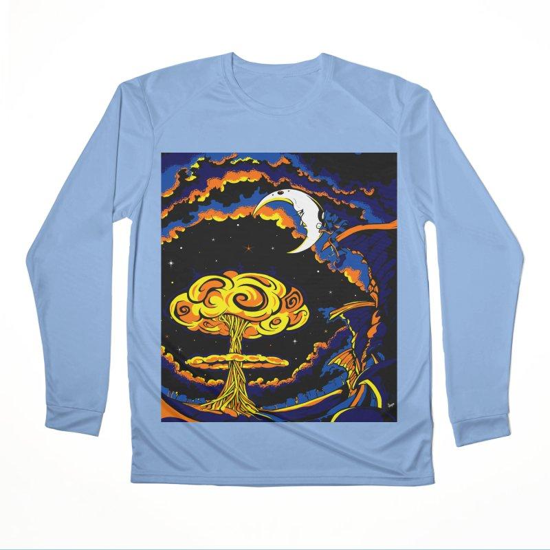 Moon Man Women's Longsleeve T-Shirt by The Art of JCooper