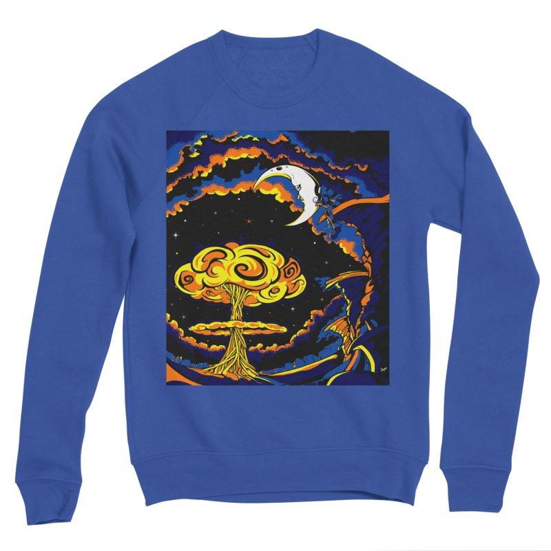 Moon Man Men's Sweatshirt by The Art of JCooper