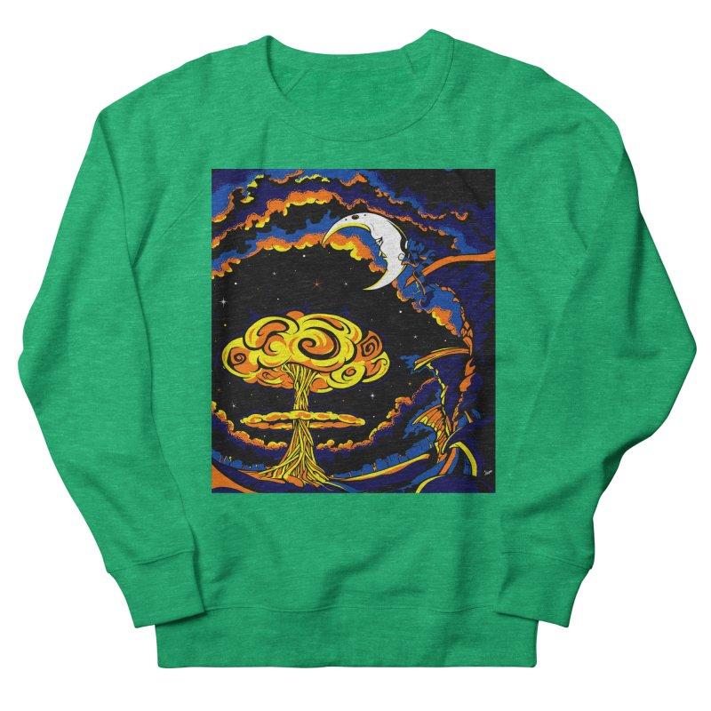Moon Man Women's Sweatshirt by The Art of JCooper