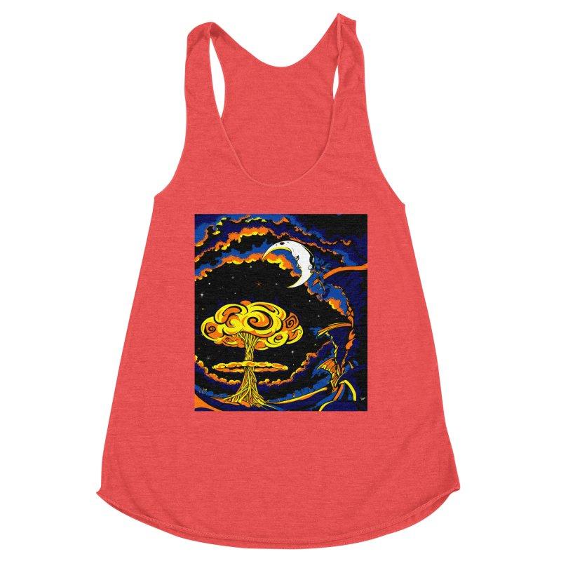 Moon Man Women's Tank by The Art of JCooper