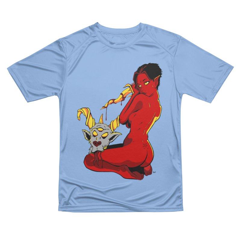 Goat Girl Men's T-Shirt by The Art of JCooper