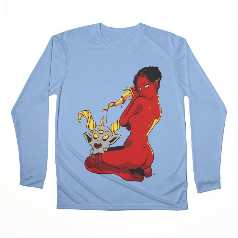 Goat Girl Women's Longsleeve T-Shirt by The Art of JCooper