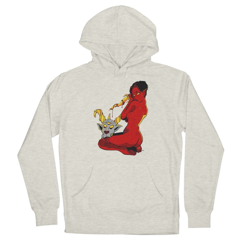 Goat Girl Women's Pullover Hoody by The Art of JCooper