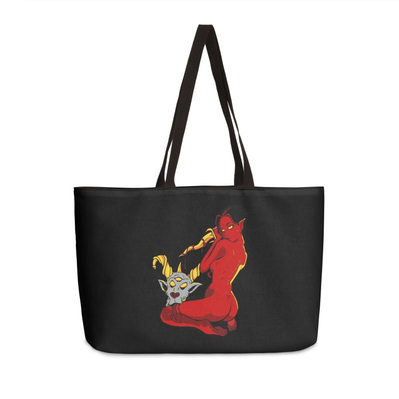 Goat Girl Accessories Bag by The Art of JCooper