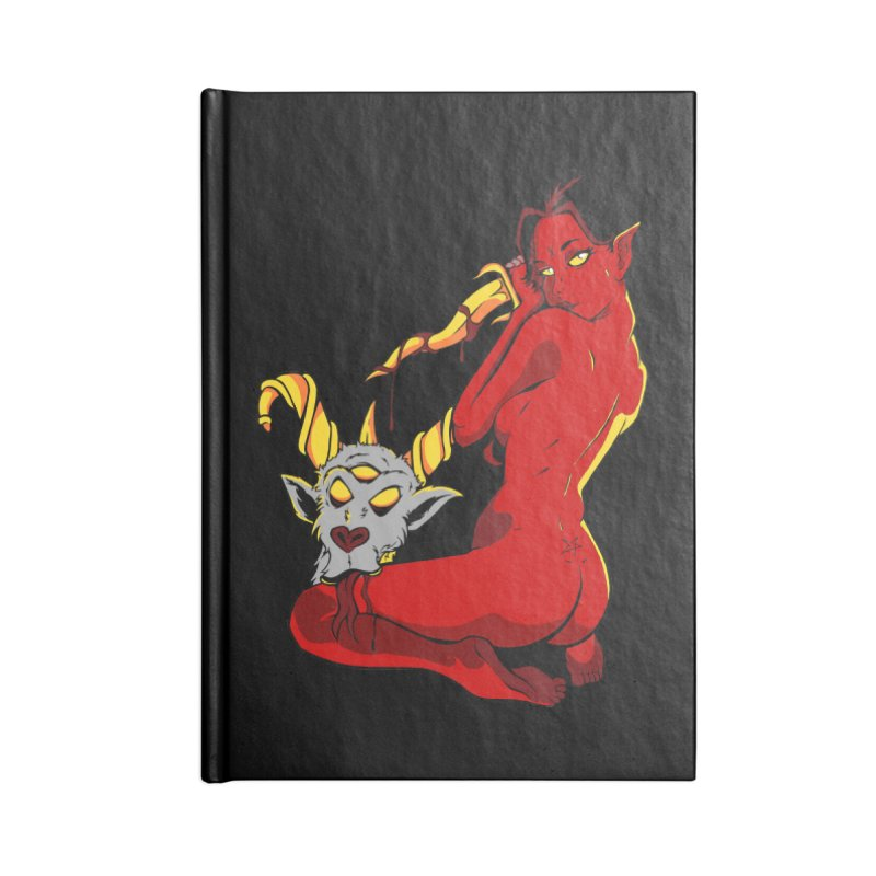 Goat Girl Accessories Notebook by The Art of JCooper