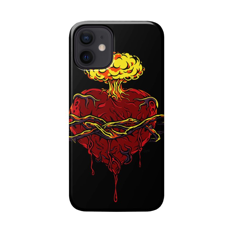 Exploding Heart Accessories Phone Case by The Art of JCooper