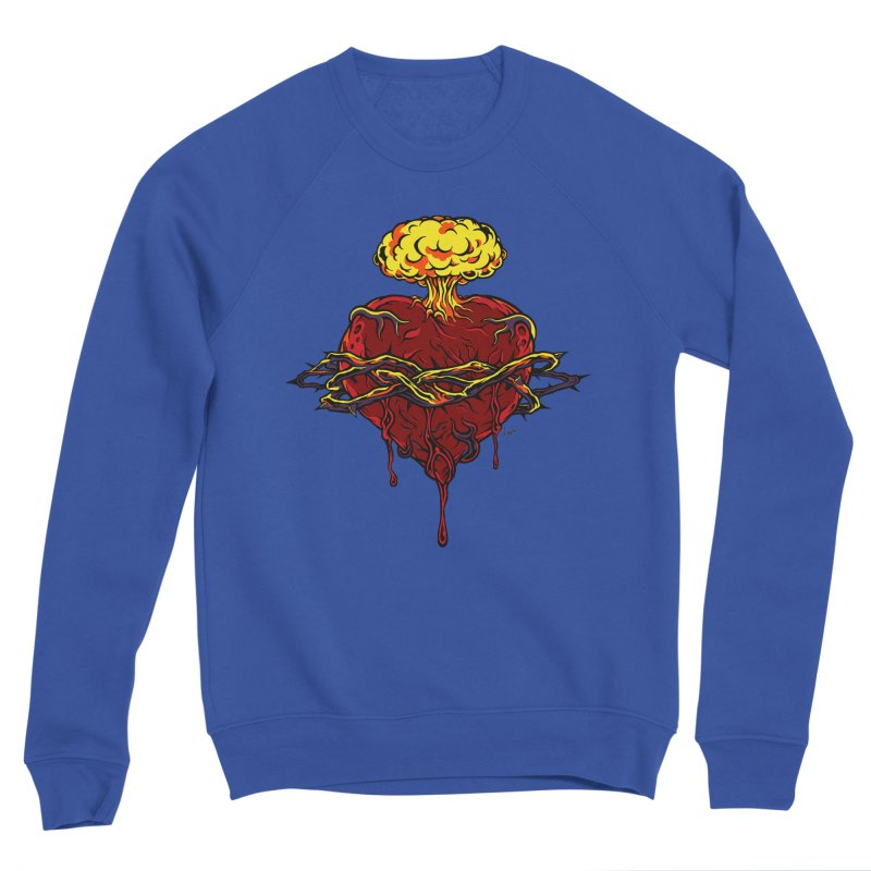 Exploding Heart Women's Sweatshirt by The Art of JCooper