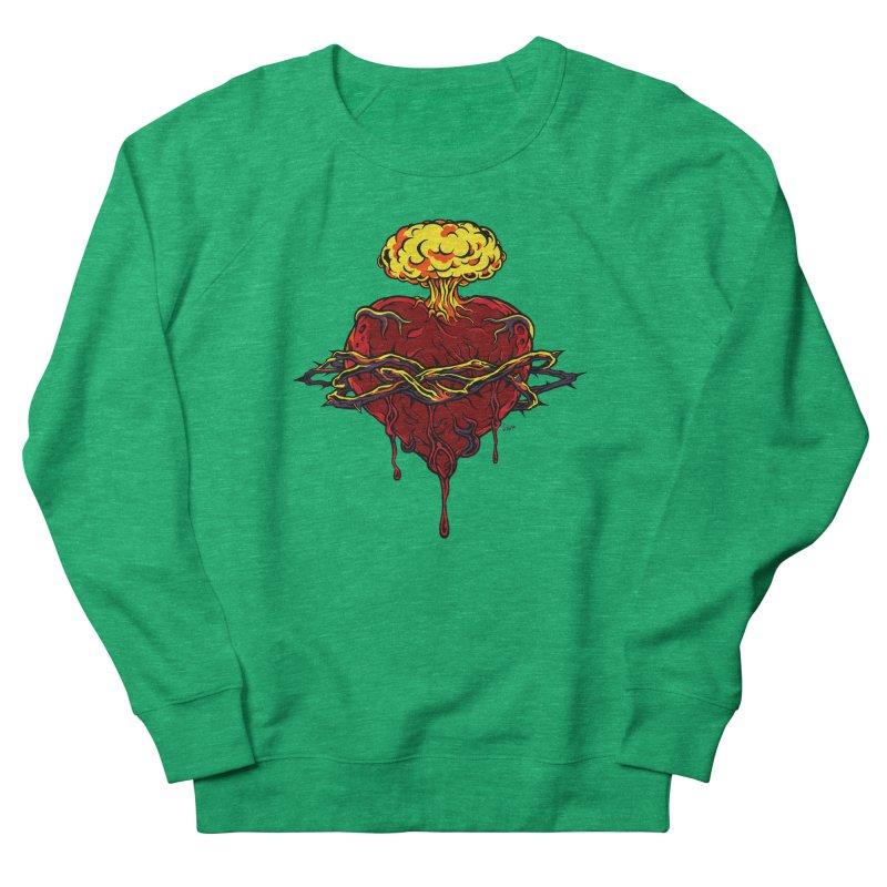 Exploding Heart Women's Sweatshirt by The Art of JCooper