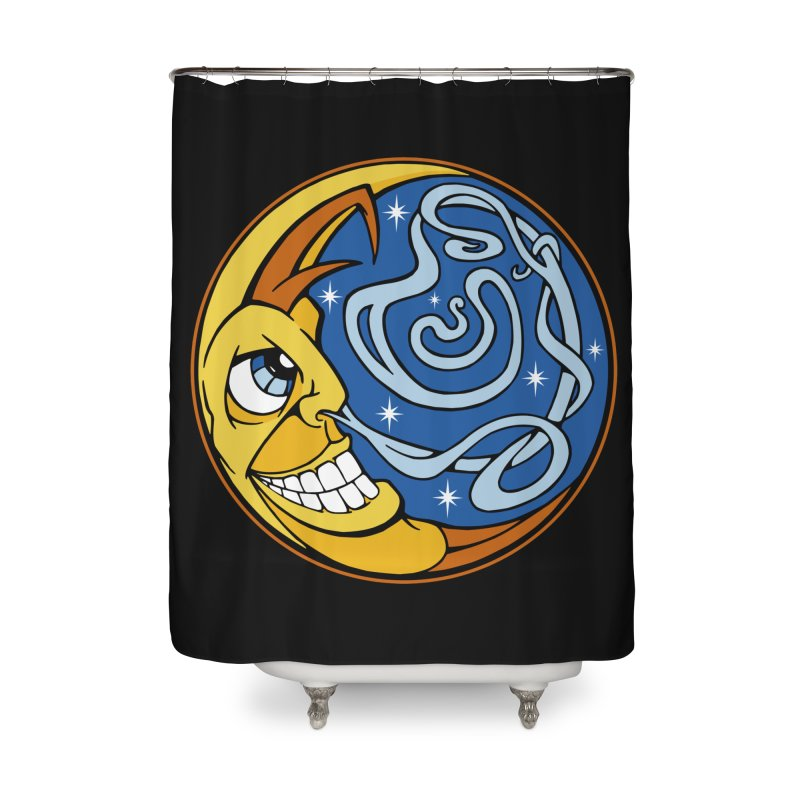 Moonsnort Home Shower Curtain by The Art of JCooper