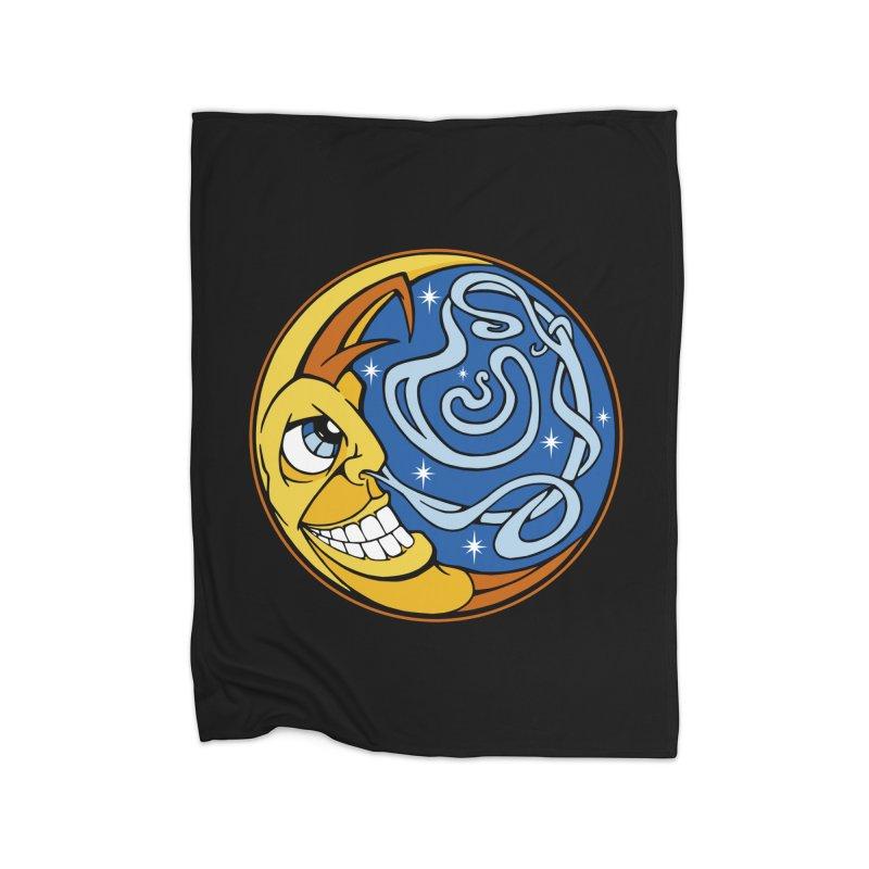 Moonsnort Home Blanket by The Art of JCooper