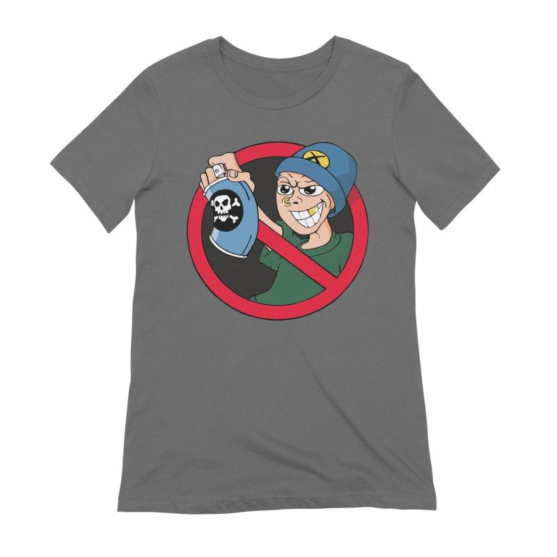 Graffiti Women's T-Shirt by The Art of JCooper