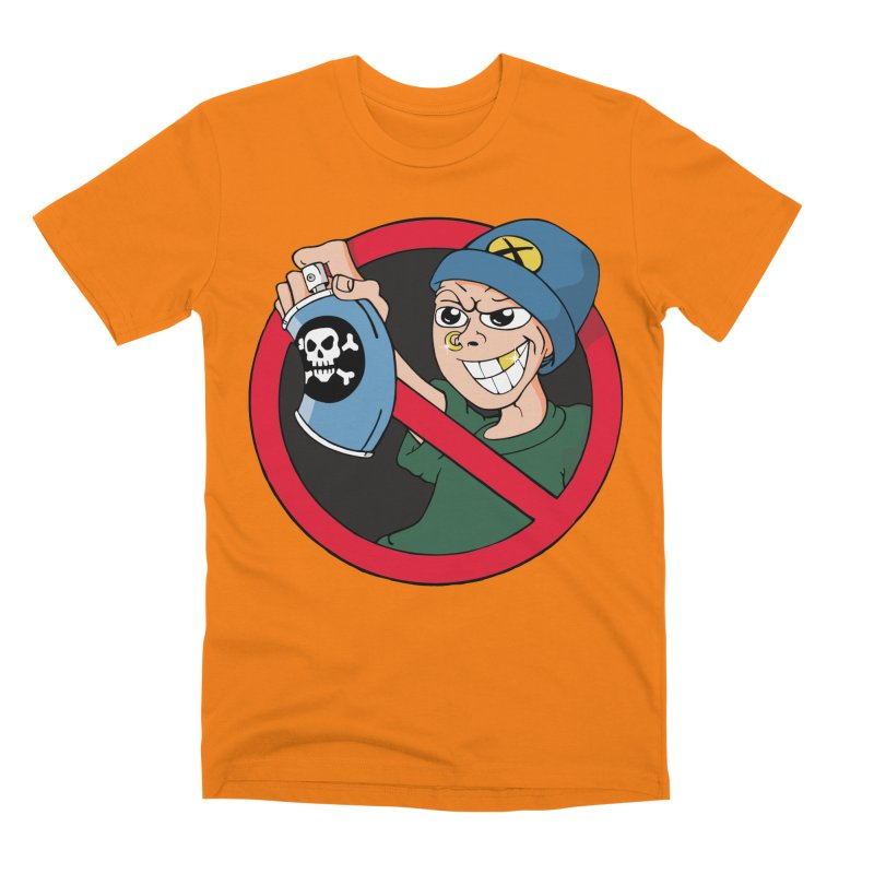 Graffiti Men's T-Shirt by The Art of JCooper