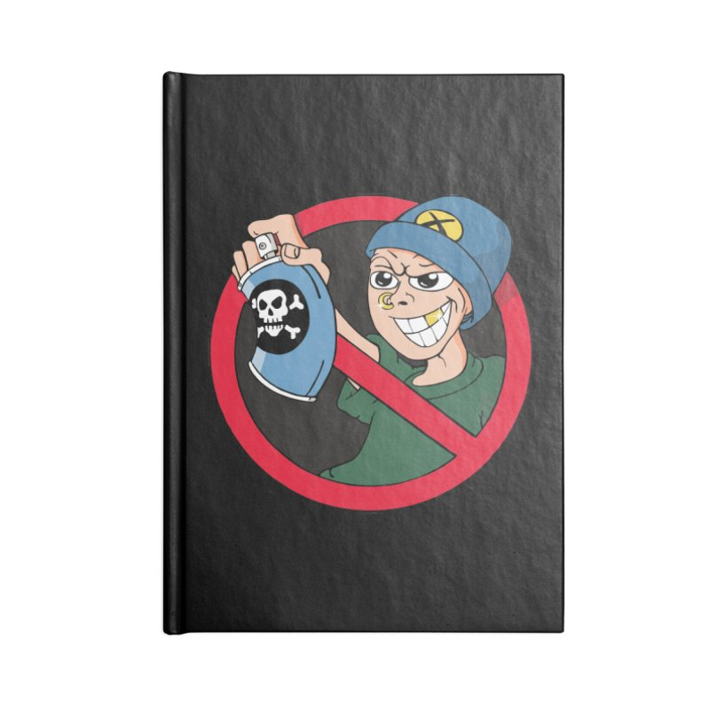 Graffiti Accessories Notebook by The Art of JCooper