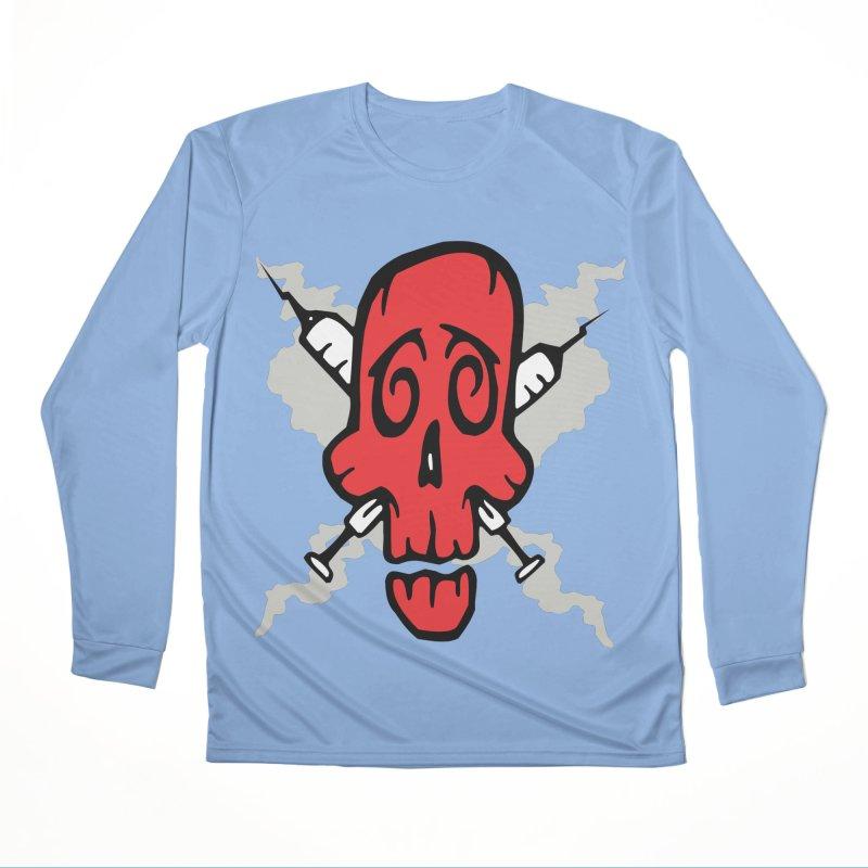 SikSkull Women's Longsleeve T-Shirt by The Art of JCooper