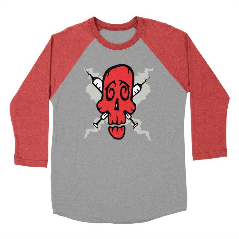 SikSkull Men's Longsleeve T-Shirt by The Art of JCooper