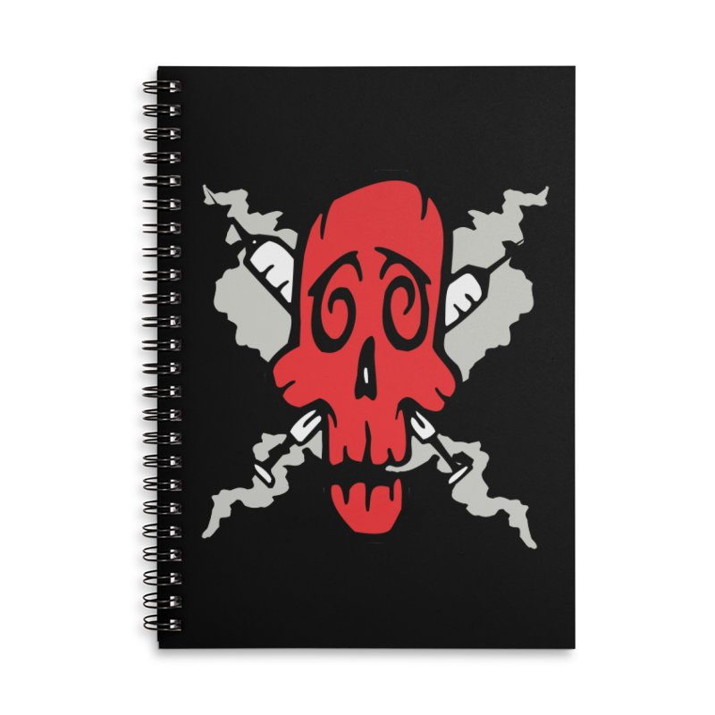 SikSkull Accessories Notebook by The Art of JCooper