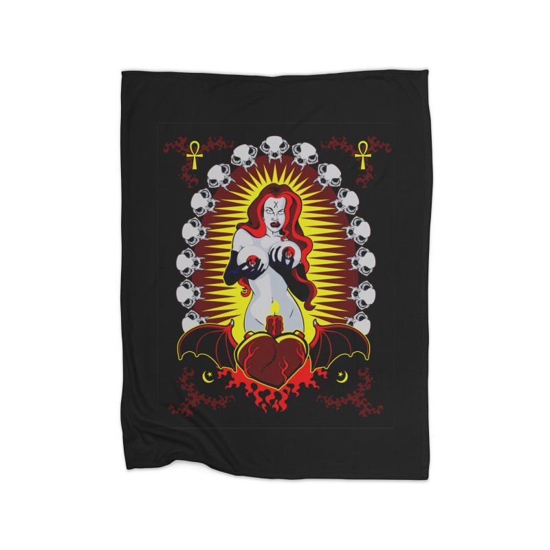 Witchy Woman Home Blanket by The Art of JCooper