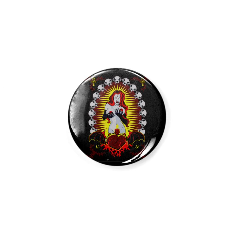 Witchy Woman Accessories Button by The Art of JCooper
