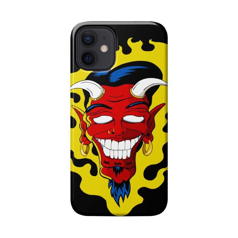 Devil Accessories Phone Case by The Art of JCooper