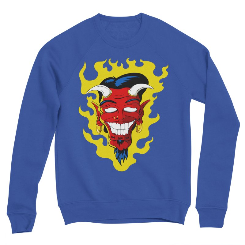 Devil Men's Sweatshirt by The Art of JCooper