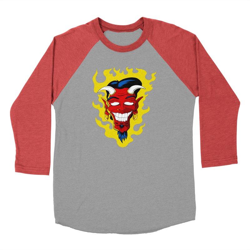 Devil Men's Longsleeve T-Shirt by The Art of JCooper
