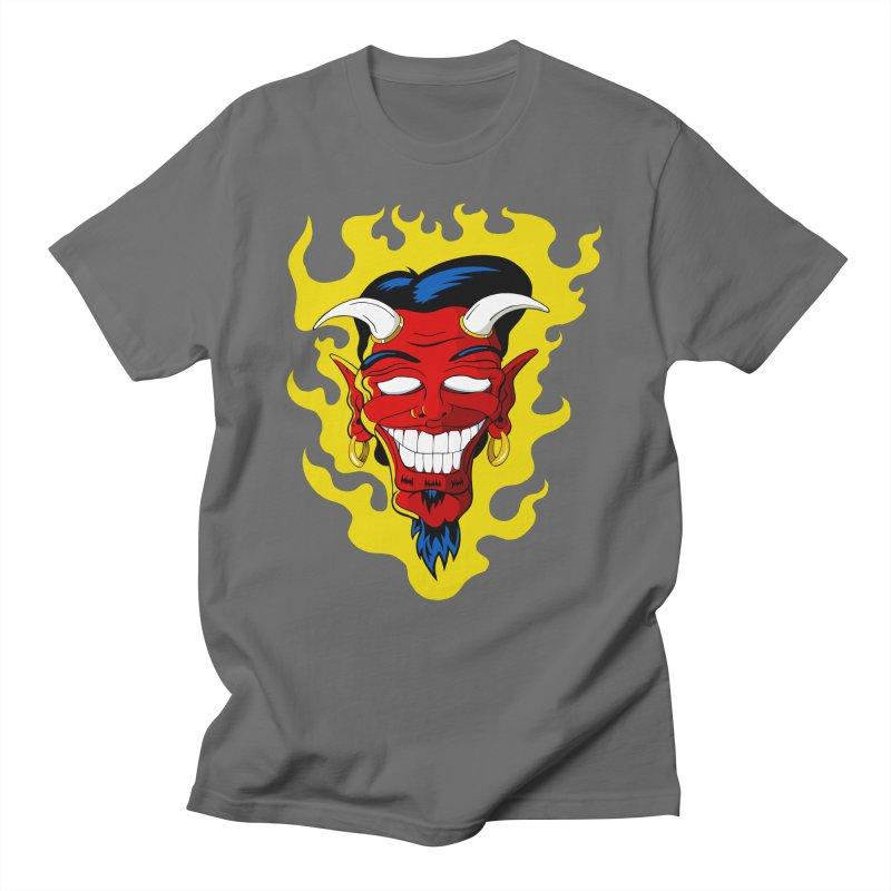Devil Men's T-Shirt by The Art of JCooper