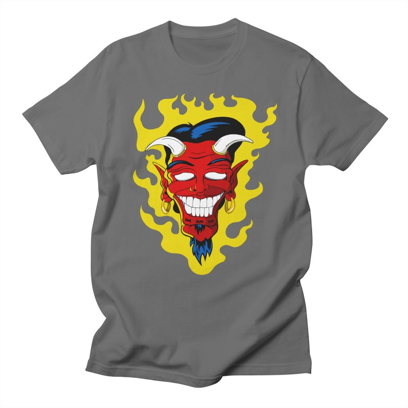 Devil Men's T-Shirt by The Art of JCooper