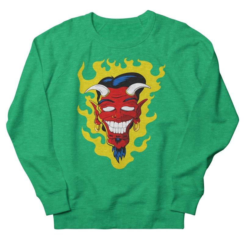 Devil Women's Sweatshirt by The Art of JCooper
