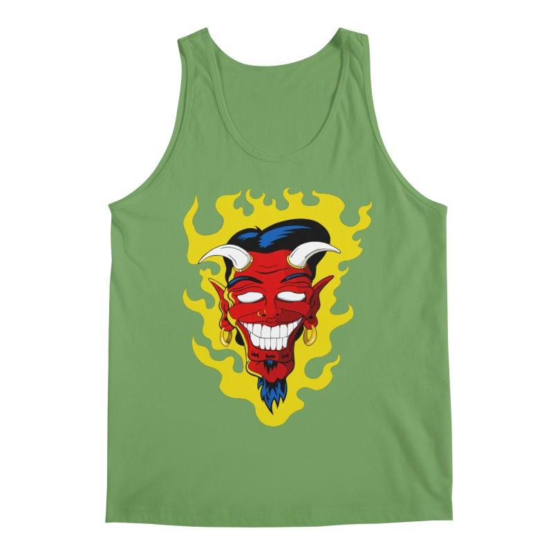 Devil Men's Tank by The Art of JCooper