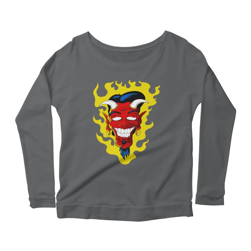 Devil Women's Longsleeve T-Shirt by The Art of JCooper