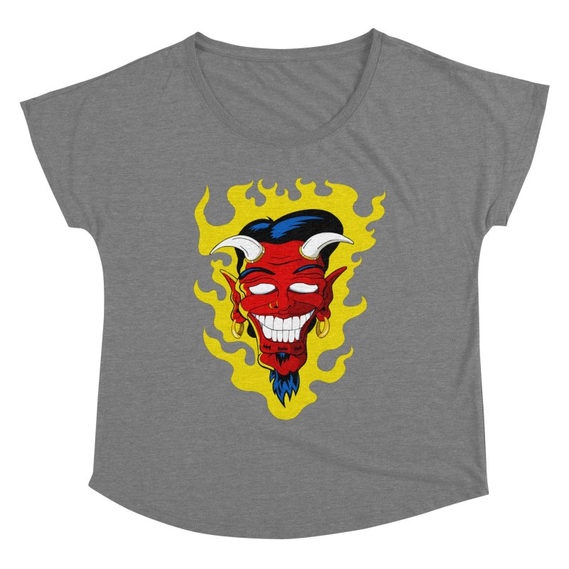 Devil Women's Scoop Neck by The Art of JCooper