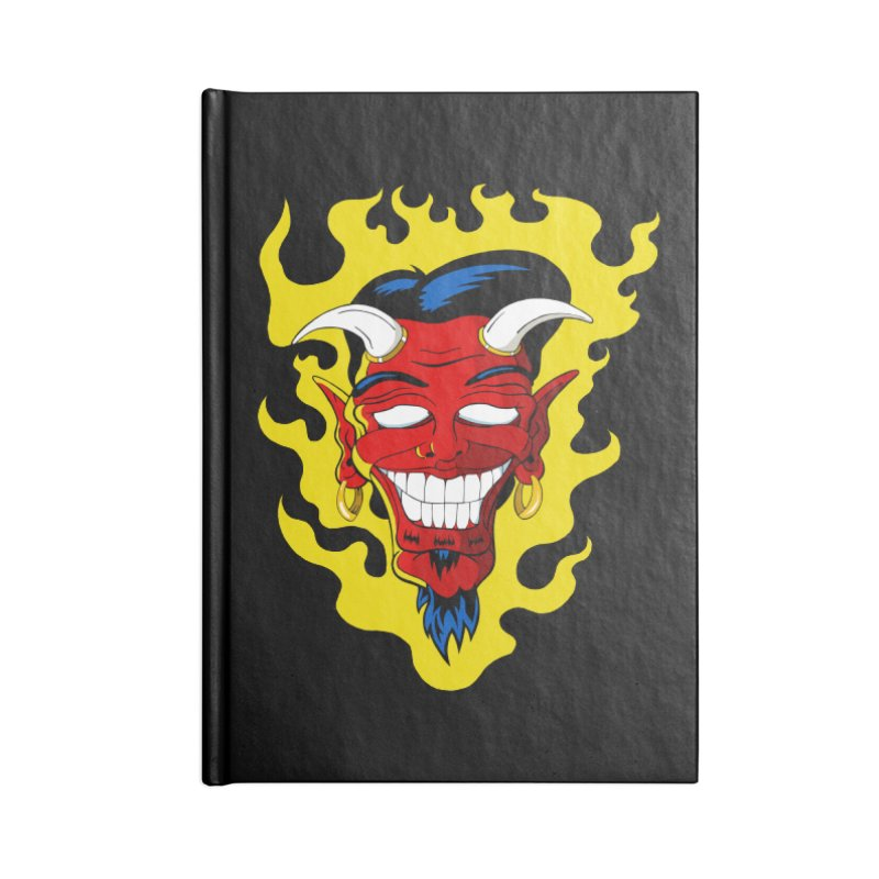 Devil Accessories Notebook by The Art of JCooper
