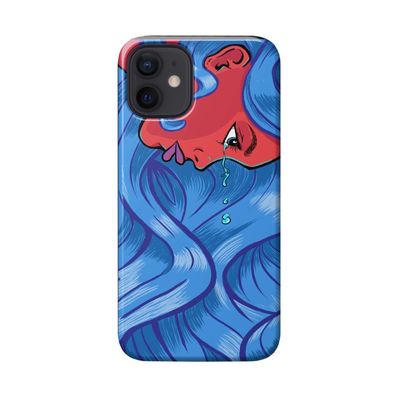 LadyRed Accessories Phone Case by The Art of JCooper