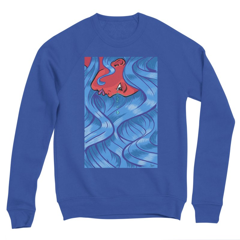 LadyRed Men's Sweatshirt by The Art of JCooper