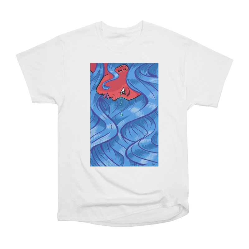 LadyRed Women's T-Shirt by The Art of JCooper