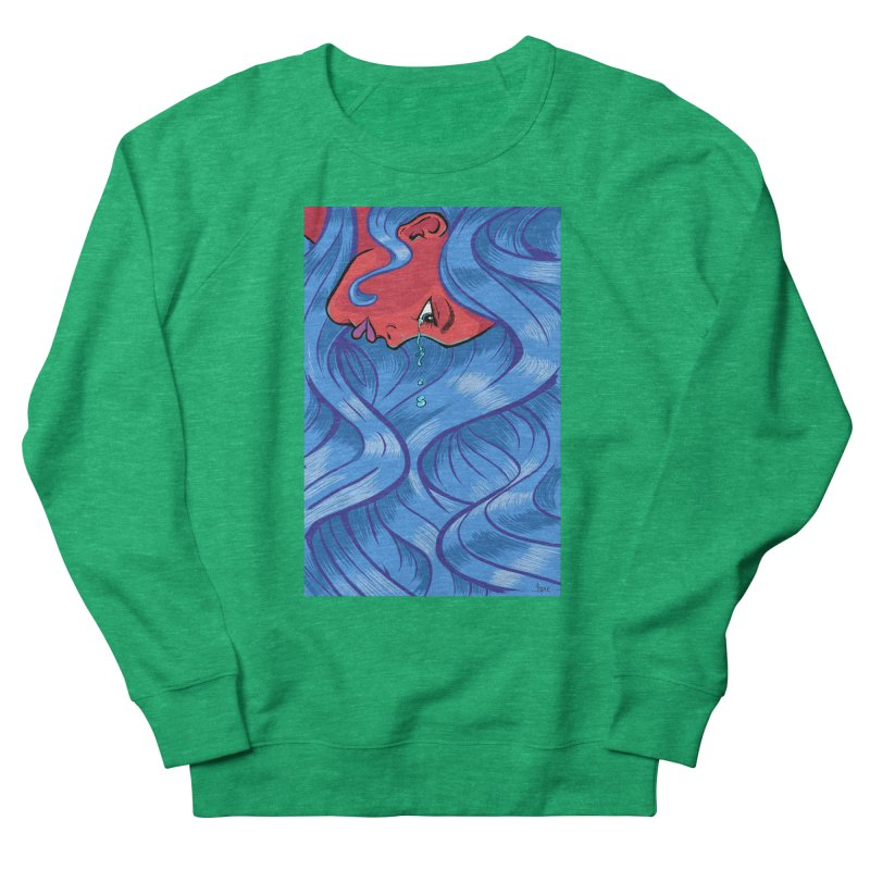 LadyRed Women's Sweatshirt by The Art of JCooper