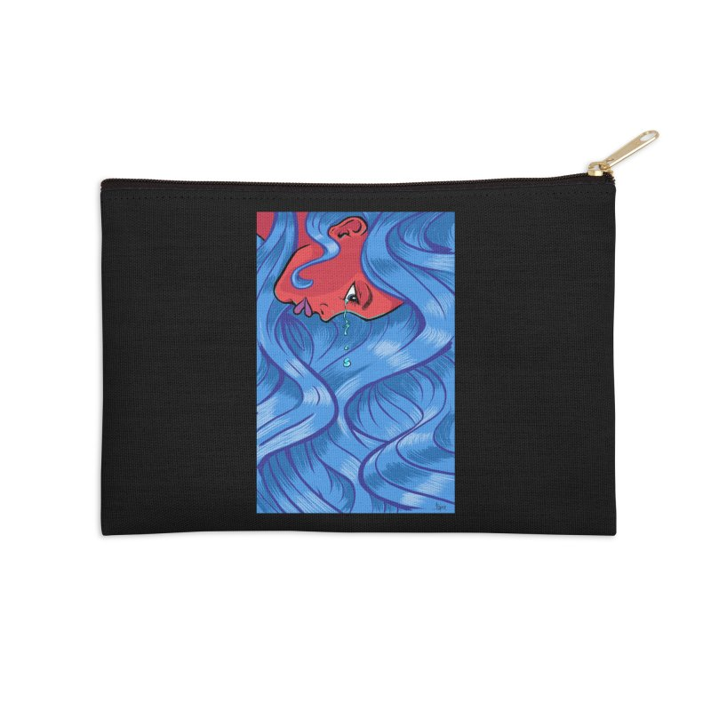 LadyRed Accessories Zip Pouch by The Art of JCooper