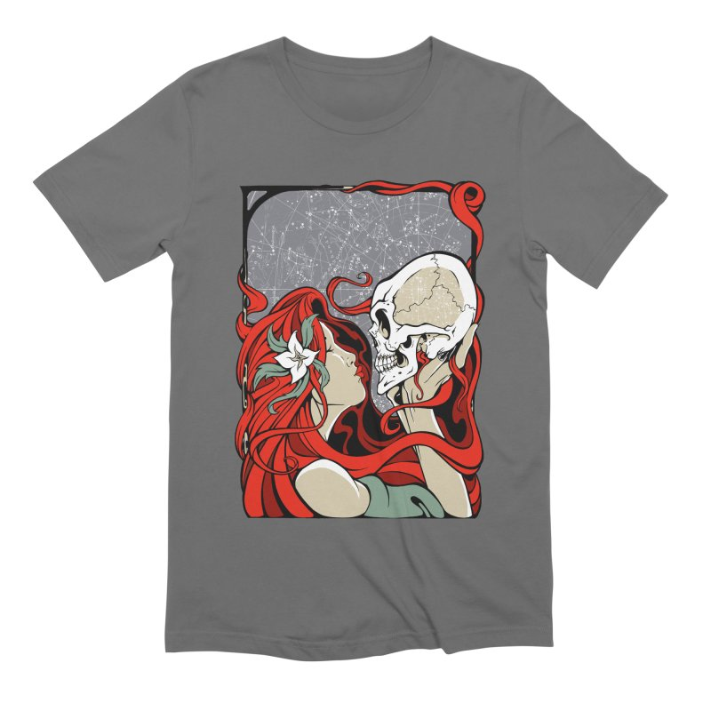 SkullKiss Men's T-Shirt by The Art of JCooper