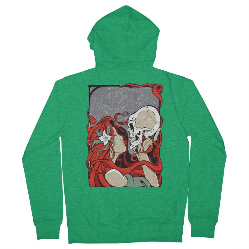 SkullKiss Women's Zip-Up Hoody by The Art of JCooper