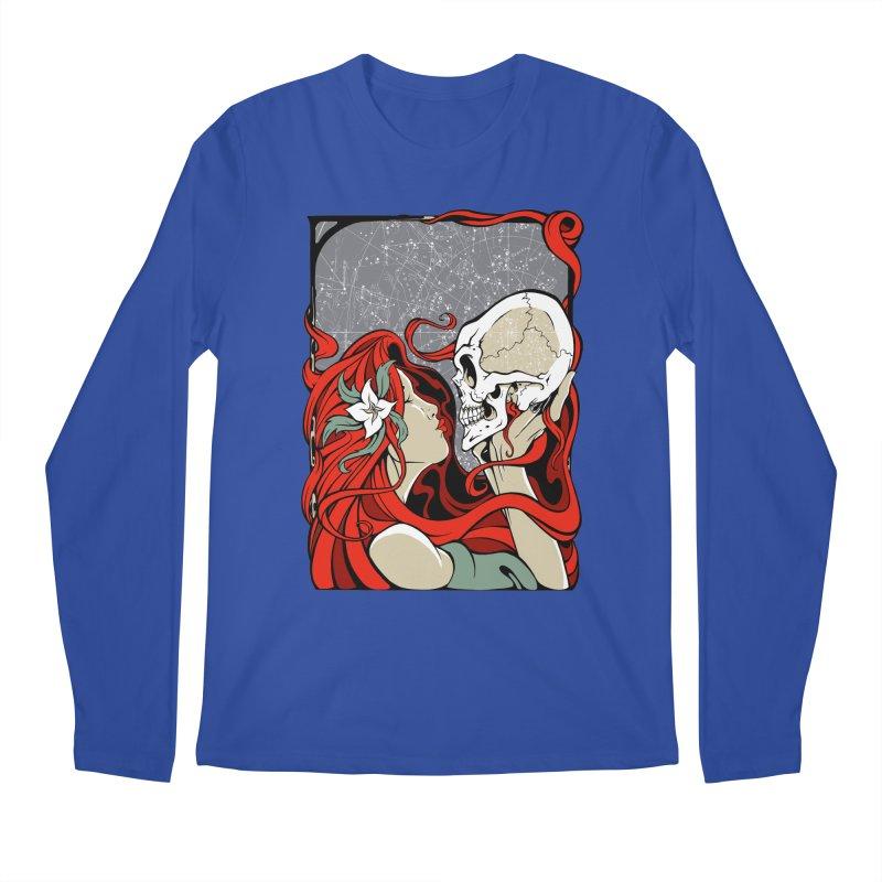 SkullKiss Men's Longsleeve T-Shirt by The Art of JCooper