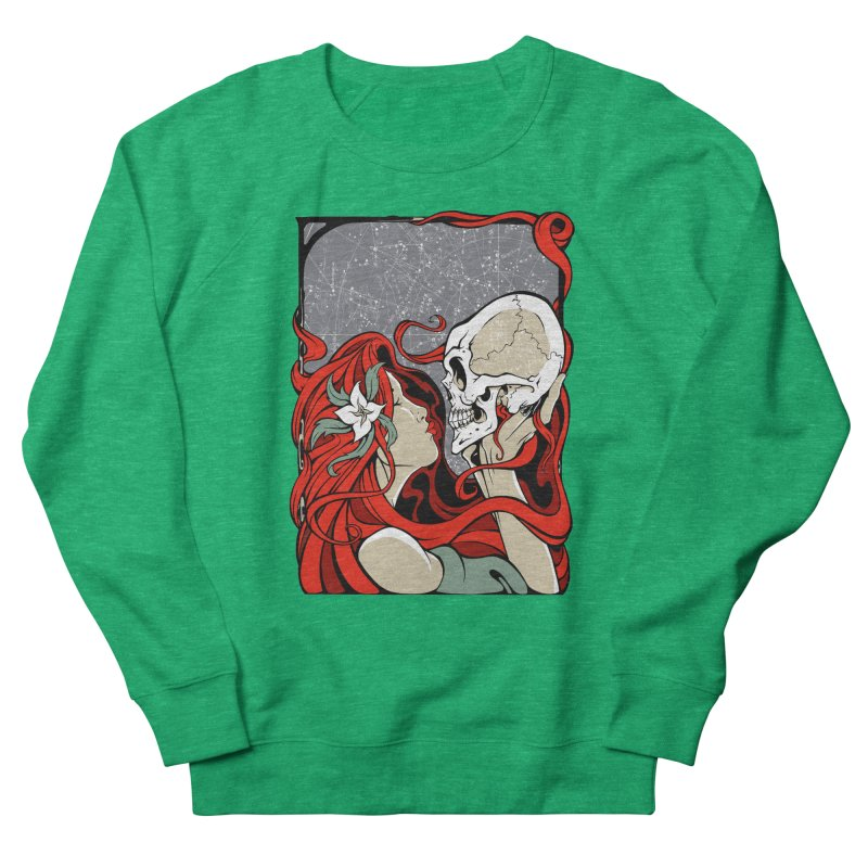 SkullKiss Women's Sweatshirt by The Art of JCooper