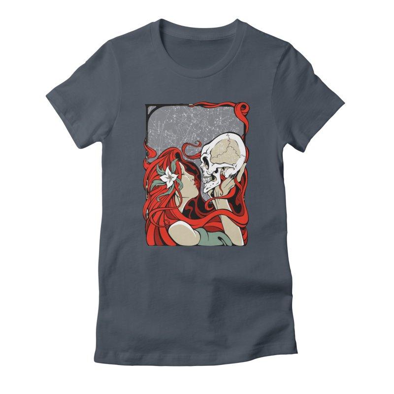 SkullKiss Women's T-Shirt by The Art of JCooper