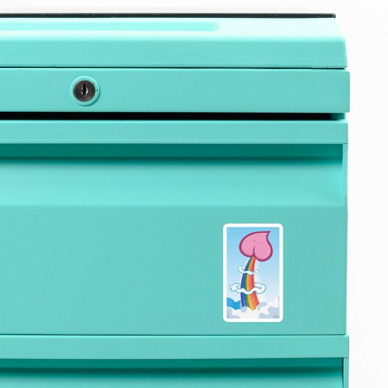 RainbowFart Phone Case Accessories Magnet by The Art of JCooper