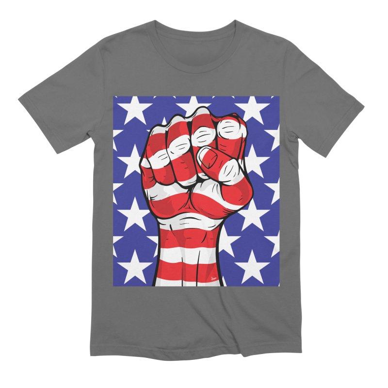 Fist Men's T-Shirt by The Art of JCooper