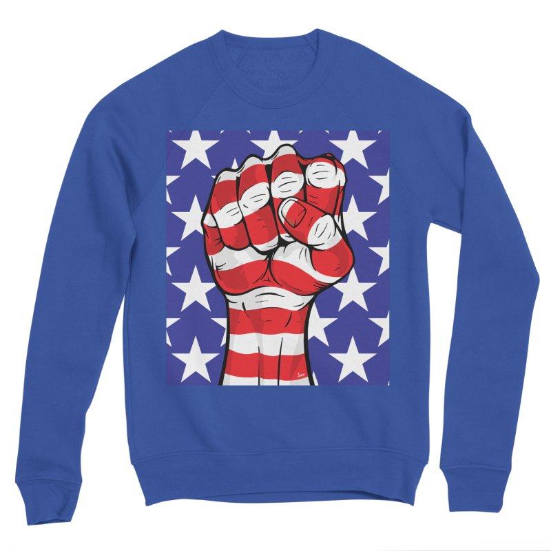 Fist Men's Sweatshirt by The Art of JCooper
